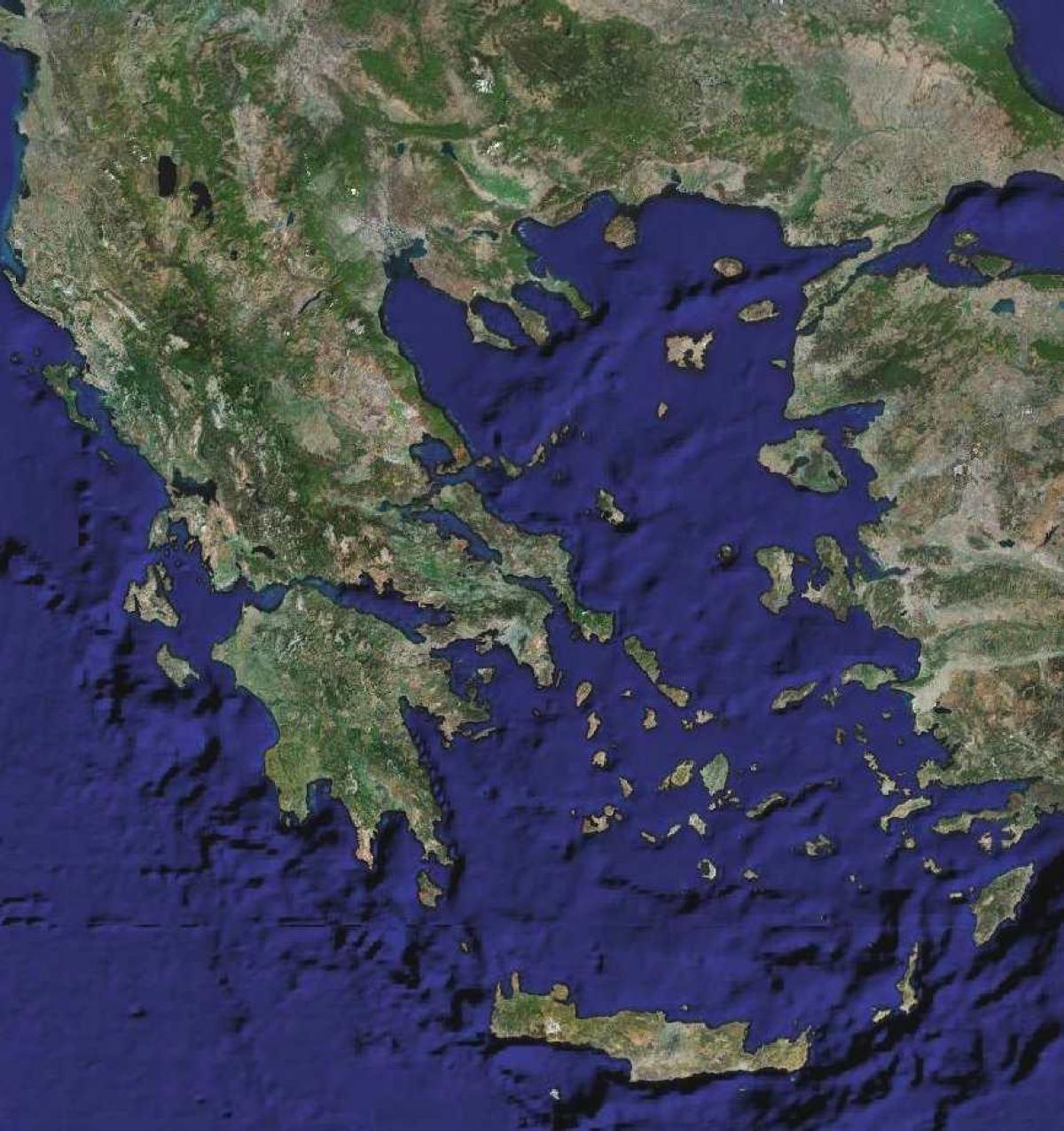 Grecja Mapy Satelitarne Mapy Satelitarne W Grecji Europa
